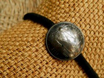 #H121 50State Quarters USA Coin Hair Elasticの画像