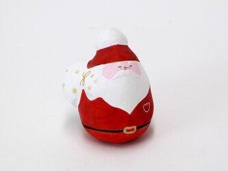 ほっこり張り子・サンタクロース(1体)の画像
