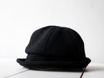 SAILOR HAT | SHAGGYWOOL c/#BLACK【56~59cm】の画像