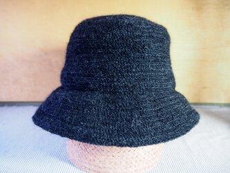 毛糸ブレード キャペ(黒)の画像
