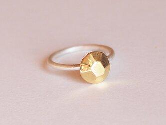 多面体の指輪(まる) 5号 ピンキーにもの画像