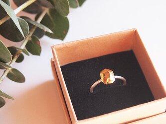 多面体の指輪(長方形) 14.5号の画像