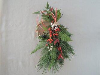 フレッシュなお正月飾り-1の画像