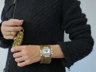ビジューブレスレット vintage bracelet bijou <BL3-1219>の画像