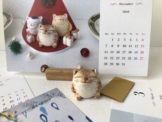 ぽってり猫さんお正月セット キジトラの画像