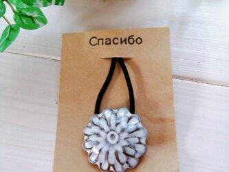 お花のヘアゴム1の画像