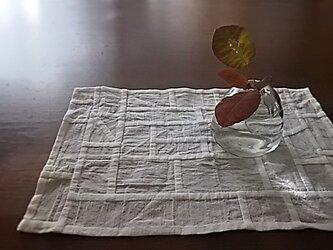 ポシャギ風クロス 32.5×22センチの画像