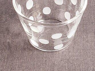 toujours 耐熱カップ 水玉の画像