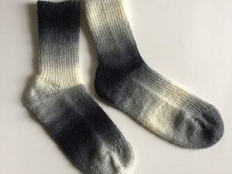 手編み靴下【Woolly Hugs イヤーソックス 12】の画像