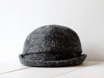 SAILOR HAT | WOOLTWEED c/#DARKGRAY【M:56~59cm】の画像
