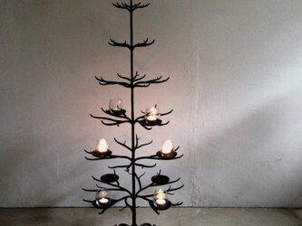 ロートアイアン製クリスマスツリーの画像
