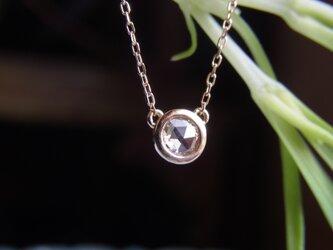 1点ものK18ダイアモンドのペンダントの画像