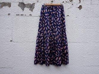リバティ・lowギャザーマキシスカートの画像
