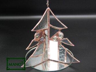 ガラスのクリスマスツリーBの画像