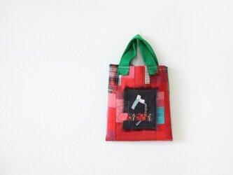 ぺたんこA4バッグ「a」の画像