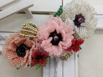 バレッタ Bouquet  (ホーリーポピー)の画像