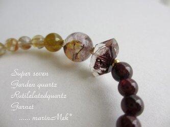 【marinMek*】ガーデン水晶、ルチルクォーツ・・・・の画像