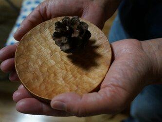 栃の小皿10cmの画像