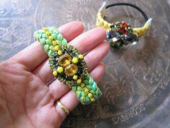 ビジューヘアゴム vintage bijou hair tie <HTB1-1219>の画像