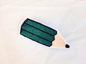 刺繍ブローチ 「えんぴつ」の画像