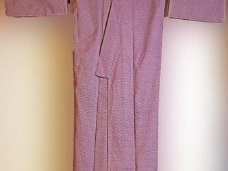 ウール着物 あなたサイズに仕立て直しRemake this wool kimono to your size.の画像