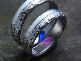 チタン結婚指輪の画像