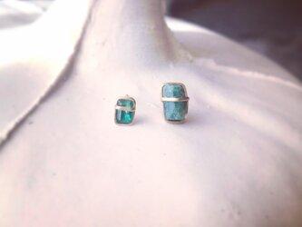 K10 Emerald Asymmetry pierceの画像