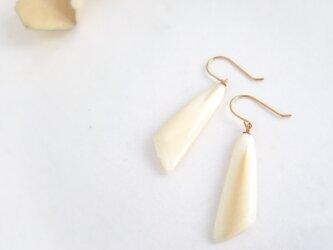 k10✼Makkoh pierced earrings 92056の画像
