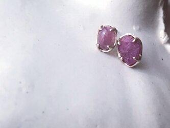K10 Ruby Asymmetry pierceの画像