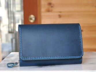 収納性抜群の三つ折り財布 No.7 ブッテーロの画像
