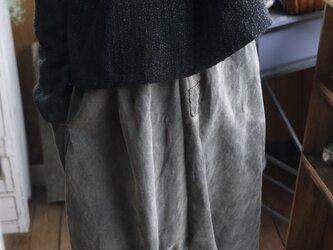 綿ウール混ファンシーツイード からトップスの画像