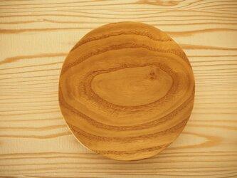 クリの5寸皿の画像