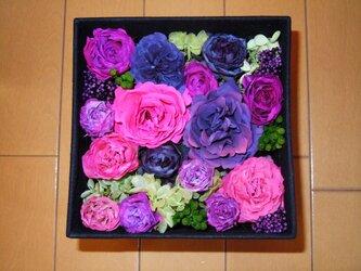 花箱 フラワーボックス スクエア 小の画像