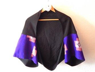 着物パッチワークリメイク 羽織ものの画像
