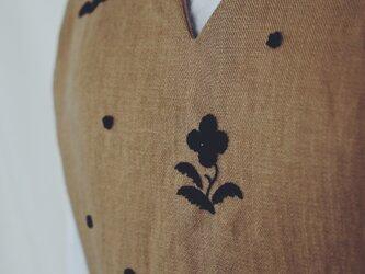 (お客様ご予約品)sumire apron long skirtの画像