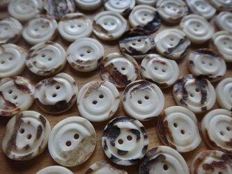 鹿角のシャツボタン1グロス(144個)セット卸価格の画像
