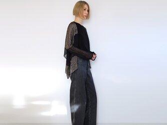 ◆即納◆Alwaid[アルワイド] オールカバー袖付きストール / ブラック系1の画像