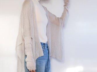 ◆即納◆Alwaid[アルワイド] オールカバー袖付きストール / グレー系1の画像