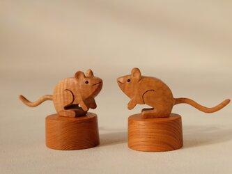 福ネズミ (トチ+ケヤキ)の画像