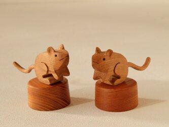 福ネズミ (チェリー+ケヤキ)の画像
