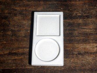 【マスプレート□○ iPod風 白妙】の画像