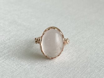 1st anniversary sale!! Rose Quartz ringの画像