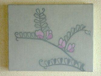 【原画】花は少女(カラスノエンドウ)の画像