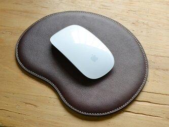 マウスパッド(ダークブラウン)の画像