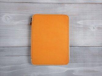 母子手帳ケース 黄色【受注製作】の画像