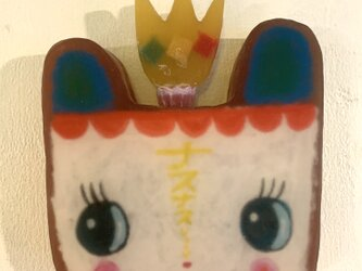 ぷーちゃんヘッド花瓶の画像