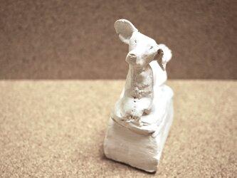 犬のアロマストーン小箱 04の画像