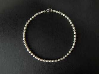 真珠のネックレスの画像