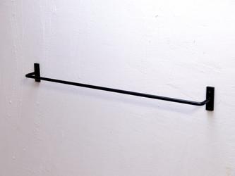 iron towel hanger #01の画像
