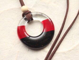 【再販】 ガラス製 和の装い リングペンダント 其の壱の画像